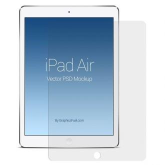 """Film iPad Air / iPad Air 2 / iPad 9.7"""" protection écran verre trempé 0.3mm"""