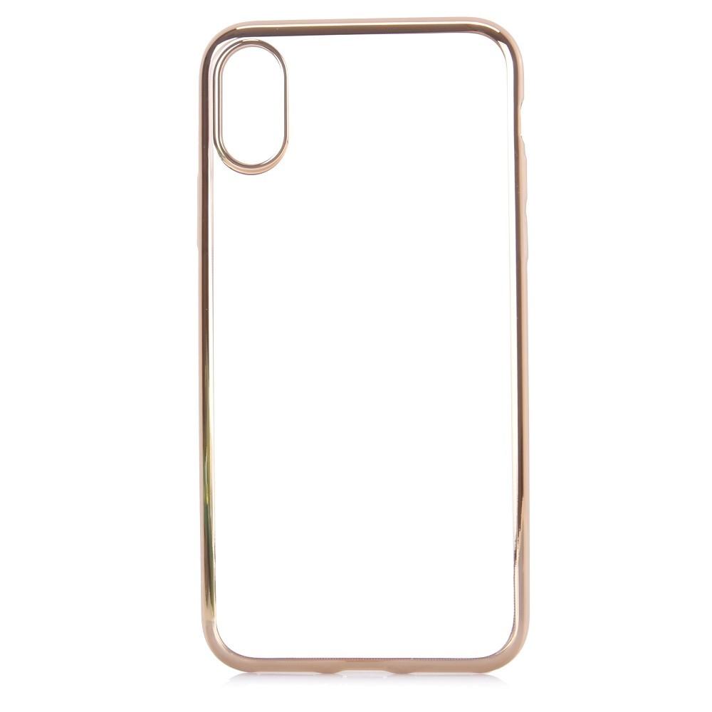 coque iphone x contour blanc