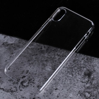 Coque iPhone X Transparente et rigide - Crazy Kase