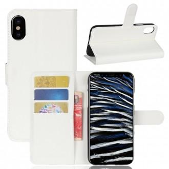 Etui iPhone X Porte cartes Blanc - Crazy Kase