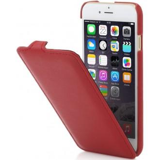 Etui iPhone 6 / 6s UltraSlim cuir en véritable rouge Nappa - StilGut