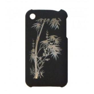 Coque plastique iPhone 3G/3GS motif bambou