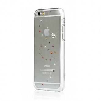 Coque iPhone 6 / 6s Papillon cotton candy avec cristaux de Swarovski - Bling My Thing