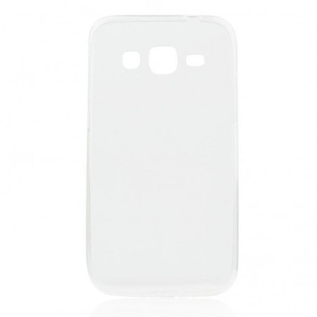 Coque Galaxy Core Prime Transparente souple - Crazy Kase