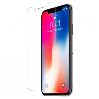 Film iPhone X protection écran verre trempé