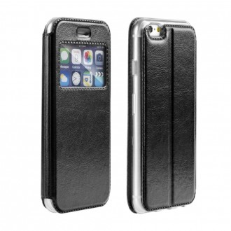 Etui iPhone SE / 5S / 5 Noir - Forcell