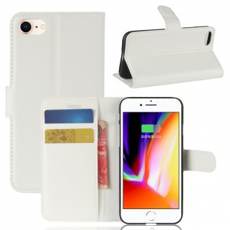 Etui iPhone 8 / 7 Porte cartes Blanc - Crazy Kase