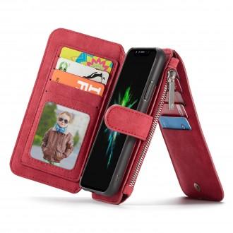 Etui iPhone X Portefeuille multifonctions Rouge - CaseMe