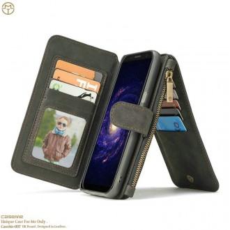 Etui Galaxy S8 Plus  Portefeuille multifonctions Noir - CaseMe