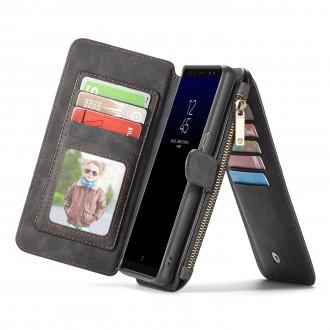 Etui Galaxy Note8 Portefeuille multifonctions Noir - CaseMe