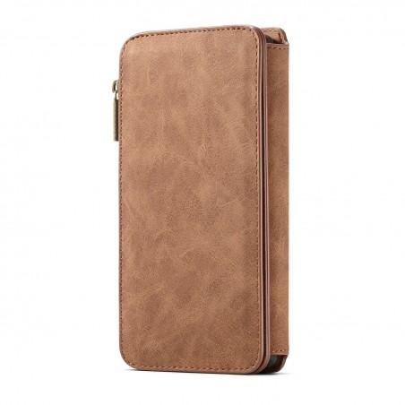 Etui Galaxy Note8 Portefeuille multifonctions Marron - CaseMe