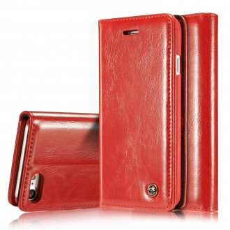 Etui iPhone 8 / 7 Porte-carte Rouge - CaseMe