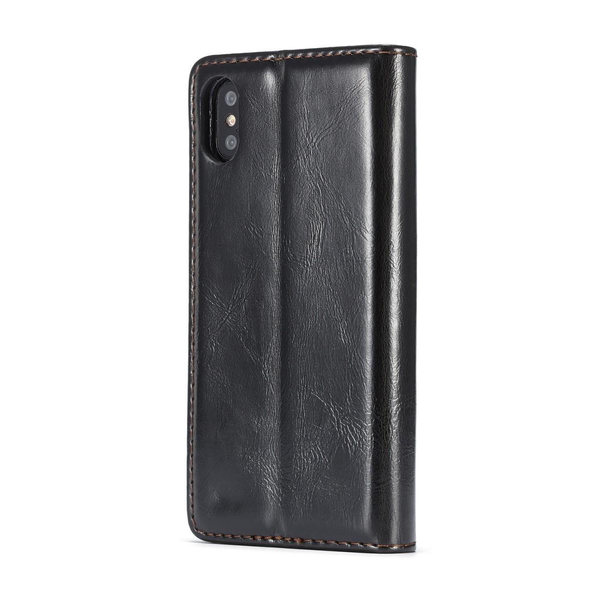 Etui iPhone X Porte-carte Noir - CaseMe