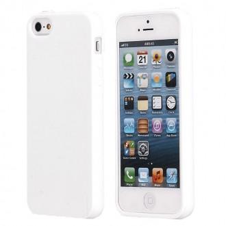 Coque iPhone SE / 5S / 5 Souple Blanche brillante - Crazy Kase