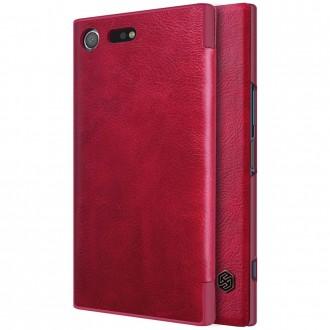 Etui Sony Xperia XZ Premium Rouge - Nillkin