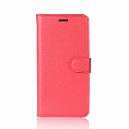 Etui Xperia XZ1 Compact Porte cartes Rouge - Crazy Kase