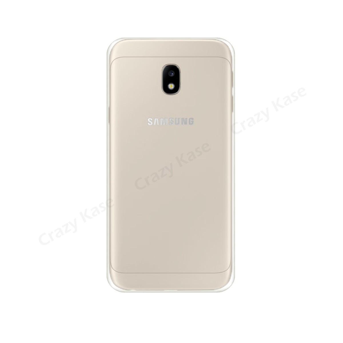 Coque Galaxy J7 (2017) Transparente et Souple - Crazy Kase