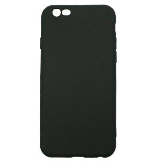 Coque iPhone 6 / 6s Noire Mat souple et fine - Crazy Kase