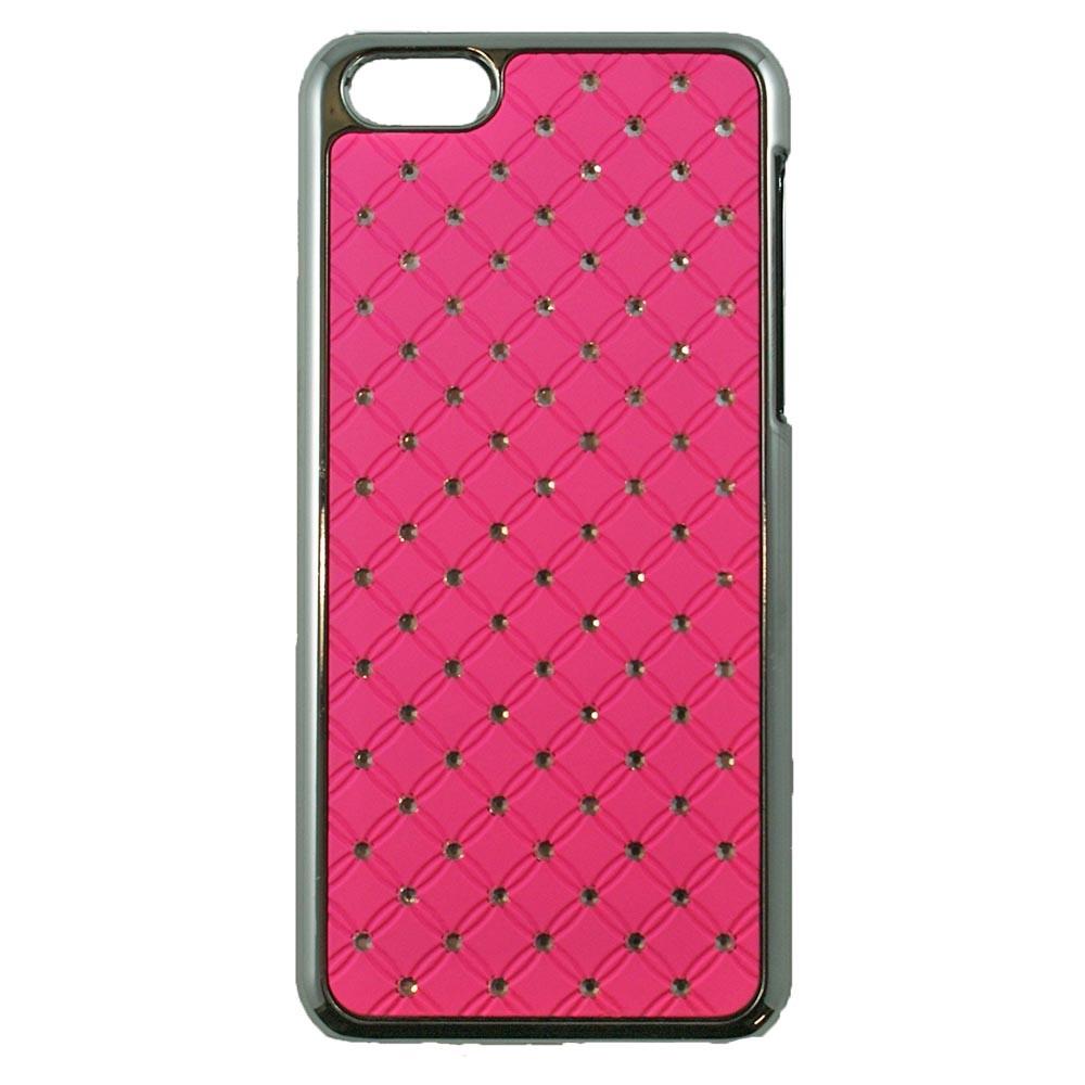coque iphone xs rose fluo