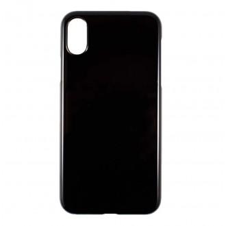 Coque iPhone X noire et rigide - Crazy Kase