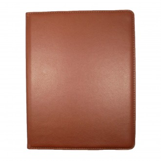 Etui iPad 2 / 3 / 4 marron rotatif 360 degrés - Crazy Kase