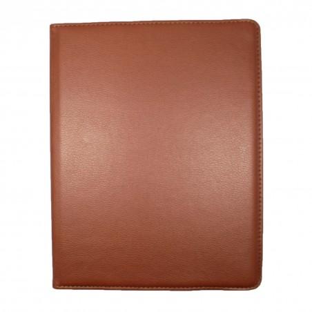 Etui iPad 2 / 3 / 4 marron rotatif 360 degrés - Crazy Kase
