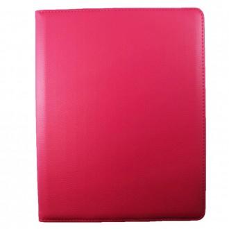 Etui iPad 2 / 3 / 4 rose rotatif 360 degrés - Crazy Kase