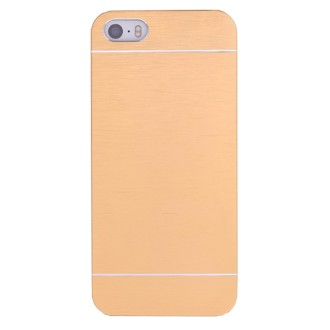 Coque iPhone 6 / 6S aluminium brossé doré - Crazy Kase