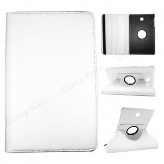Etui Galaxy Tab S2 9.7 Rotatif 360° Blanc - Crazy Kase