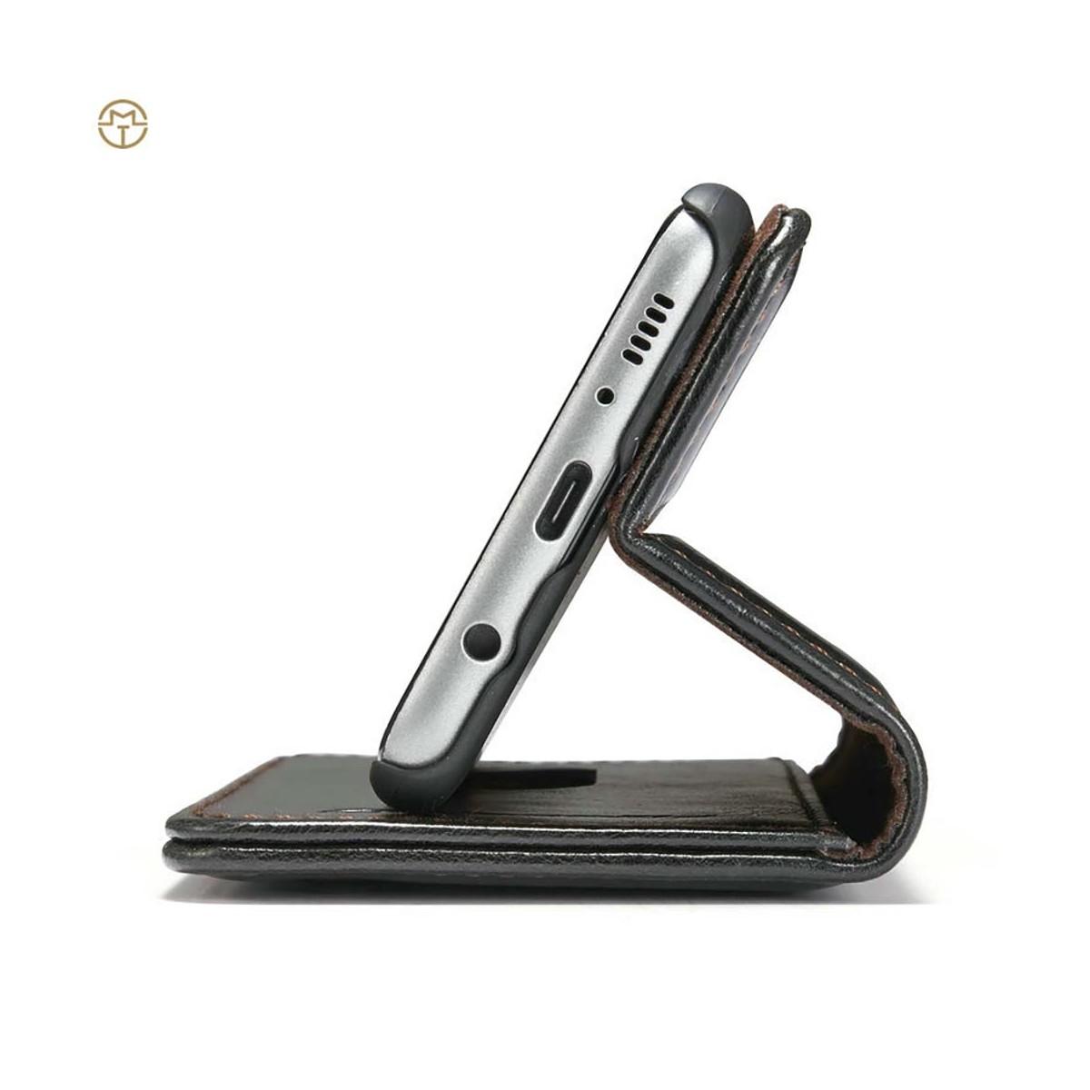 Etui Galaxy S8 Plus Porte cartes Noir - CaseMe