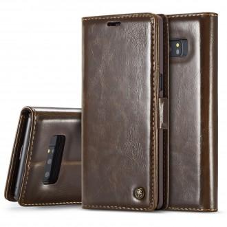 Etui Galaxy Note 8 Porte-carte Marron - CaseMe
