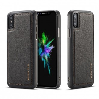 Coque iPhone X noir rigide - Whatif