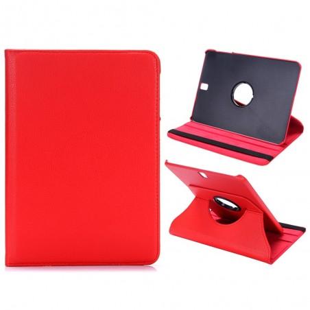Etui Galaxy Tab S3 9.7 Rotatif 360° Rouge - Crazy Kase