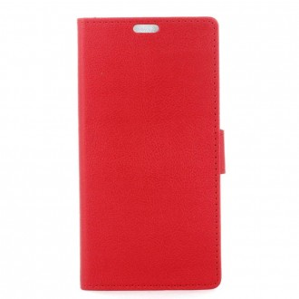 Etui Wiko Harry Portecartes Rouge - Crazy Kase