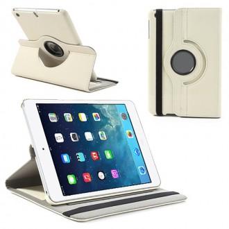 Etui iPad Mini 2 (Retina) / 3 Rotatif 360° Beige - Crazy Kase