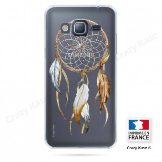 Coque Galaxy J3 (2016) souple motif Attrape Rêves Nature - Crazy Kase