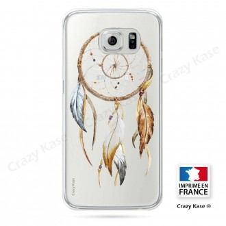 Coque Galaxy S6 souple motif Attrape Rêves Nature - Crazy Kase