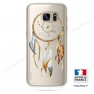 Coque Galaxy S7 Edge souple motif Attrape Rêves Nature - Crazy Kase