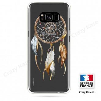 Coque Galaxy S8 souple motif Attrape Rêves Nature - Crazy Kase