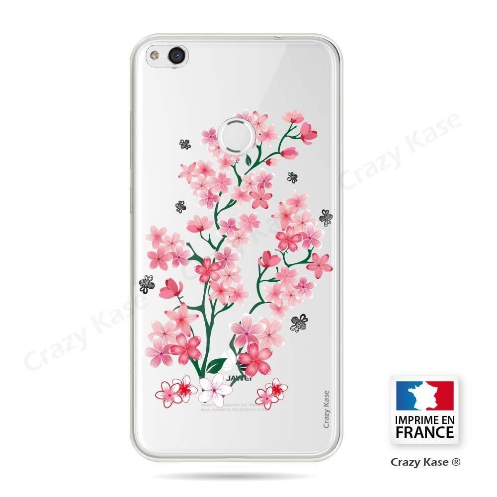 coque huawei p8 lite 2017 fleurs