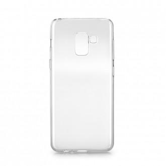 Coque Galaxy A8+ (2018) transparente et souple - Crazy Kase