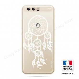 Coque Huawei P10 souple motif Attrape Rêves Blanc - Crazy Kase
