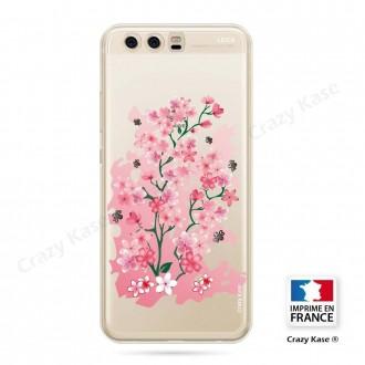 Coque Huawei P10 souple motif Fleurs de Cerisier - Crazy Kase