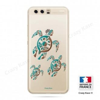 Coque Huawei P10 souple motif Famille Tortue - Crazy Kase