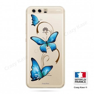 Coque Huawei P10 souple motif Papillon sur Arabesque - Crazy Kase
