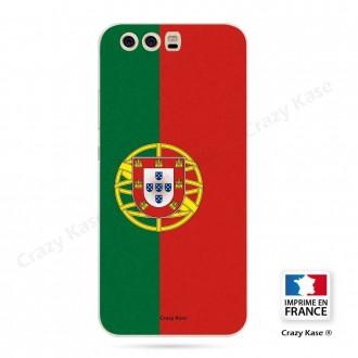 Coque Huawei P10 souple motif Drapeau Portugais - Crazy Kase