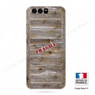 Coque Huawei P10 souple effet Caisse en bois - Crazy Kase