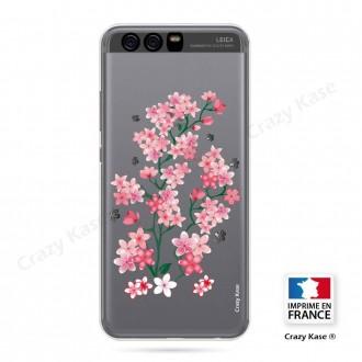 Coque Huawei P10 souple motif Fleurs de Sakura - Crazy Kase