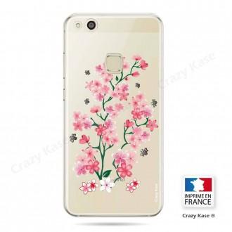 Coque Huawei P10 Lite souple motif Fleurs de Sakura - Crazy Kase