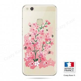 Coque Huawei P10 Lite souple motif Fleurs de Cerisier - Crazy Kase